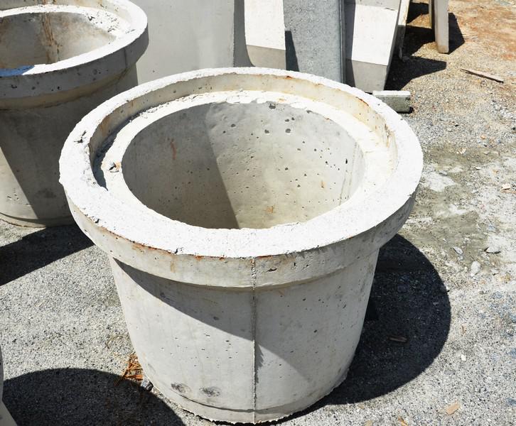 Aduela de concreto para pv