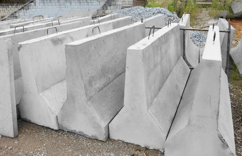 Barreira new jersey de concreto